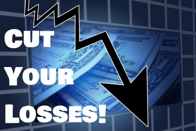 Cut your losses when trading stocks