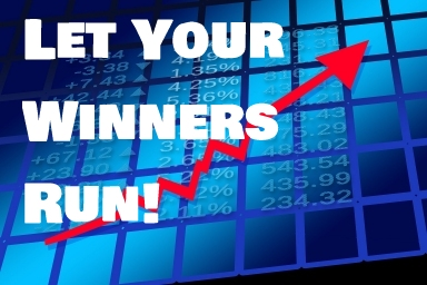 Let your winners run when trading stocks